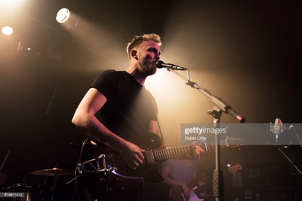 Joey Landreth of The Bros Landreth performs at The Garage on March 3 2016 in London England