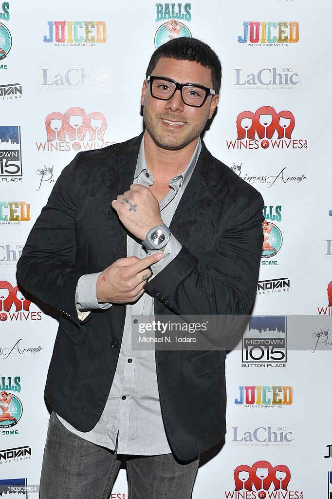 Joey Lasalla attends 'Jerseylicious' Season 5 Premiere Party at Midtown Sutton on January 28, 2013 in New York City.