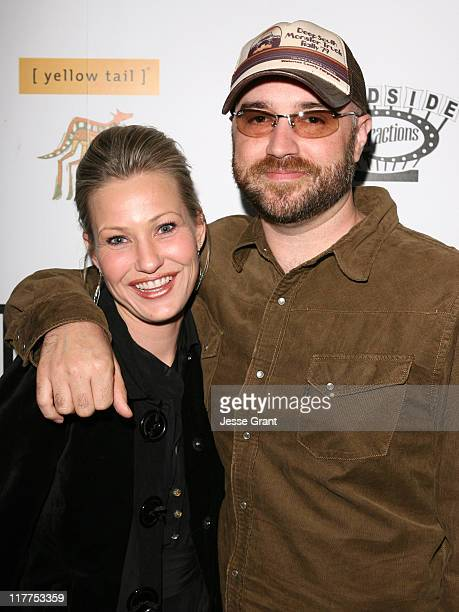 Joey Lauren Adams and Craig Brewer during 'Come Early Morning' After Party at LIVEstyle Entertainment's Premiere Lounge During AFI FEST 2006 at...