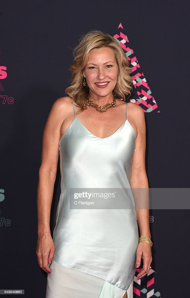 Joey Lauren Adams attends the 2016 CMT Music awards at the Bridgestone Arena on June 8 2016 in Nashville Tennessee