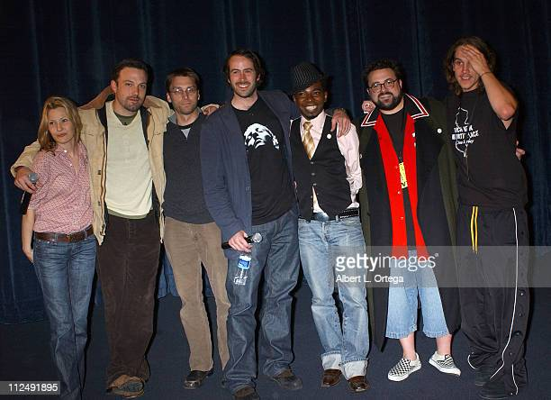 Joey Lauren Adams Ben Affleck Scott Mosier Jason Mewes Jason Lee Dwight Ewell and Kevin Smith