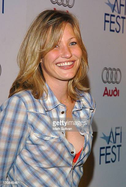 Joey Lauren Adams during AFI Fest 2005 'Fuck' Screening Arrivals at ArcLight Theatres in Hollywood California United States