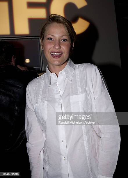 Joey Lauren Adams during Independent Film Channel 'Dinner For Five' Launch Party at Argyle Hotel in Los Angeles California United States