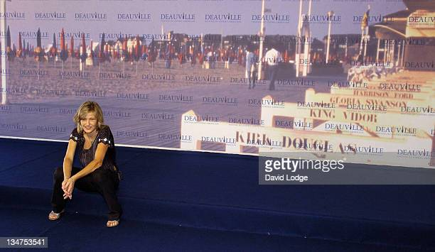 Joey Lauren Adams during The 32nd Annual Deauville American Film Festival 'Come Early Morning' Photocall at Deauville Film Festival in Deauville...