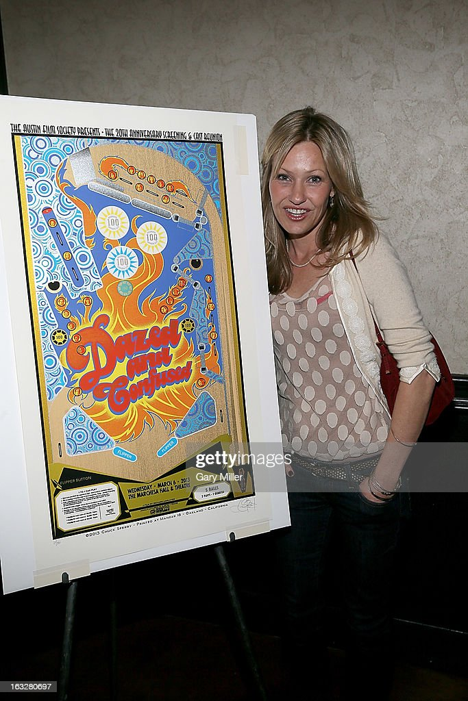 Joey Lauren Adams poses before a Q&A for the 20th anniversary screening of 'Dazed & Confused' at Marchesa Hall & Theater on March 6, 2013 in Austin, Texas.