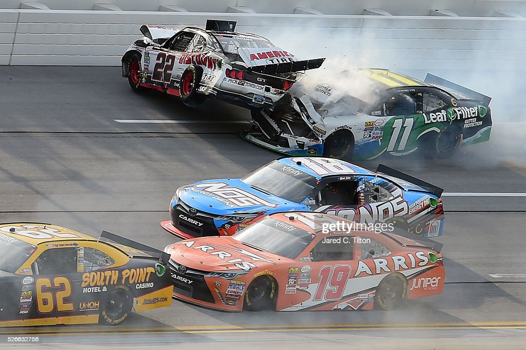 Series sparks energy 300 getty images for Koch xfinity driver