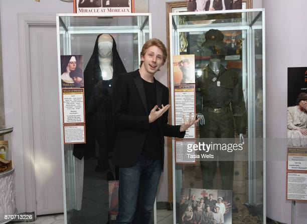 Joey Luthman at The Hollywood Museum Hosts Exhibit Unveiling and Book Launch with Loretta Swit for 'Switheart' at The Hollywood Museum on November 5...