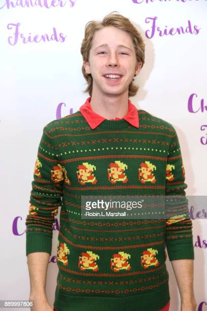 Joey Luthman attends Chandler's Friends Toy Drive And Wrapping Party at Los Angeles Ballet Academy on December 10 2017 in Encino California