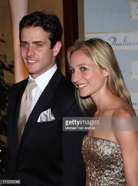 Joey McIntyre and Barrett McIntyre during The Thalians 50th Anniversary Musical Extravaganza Gala Arrivals at Hyatt Regency Century City Plaza in Los...