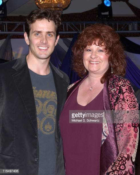 Joey McIntyre and Lisa Murray during Burbank High School's Night of Magic Funraiser with Guest Star Joey McIntyre at Pickwick Gardens in Burbank...
