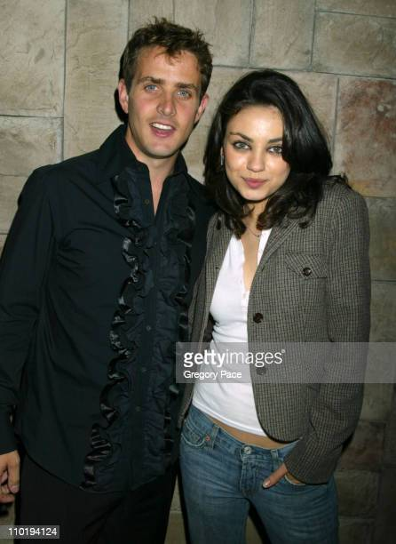 Joey McIntyre and Mila Kunis during 3rd Annual Tribeca Film Festival 'Tony and Tina's Wedding' World Premiere After Party at BLVD in New York City...