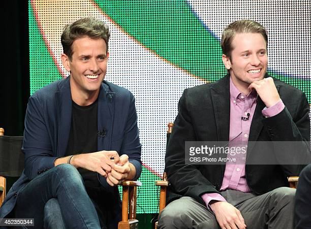 Joey McIntyre and Tyler Ritter during THE McCARTHYS session at TCA Summer Press Tour 2014 held on July 17th in Los Angeles Ca