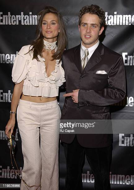 Joey McIntyre date during Entertainment Weekly 8th Annual Academy Awards Viewing Party at Elaine's in New York City New York United States