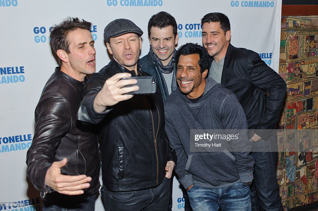 <a gi-track='captionPersonalityLinkClicked' href=/galleries/search?phrase=Joey+McIntyre&family=editorial&specificpeople=650190 ng-click='$event.stopPropagation()'>Joey McIntyre</a>, <a gi-track='captionPersonalityLinkClicked' href=/galleries/search?phrase=Donnie+Wahlberg&family=editorial&specificpeople=220537 ng-click='$event.stopPropagation()'>Donnie Wahlberg</a>, <a gi-track='captionPersonalityLinkClicked' href=/galleries/search?phrase=Jordan+Knight&family=editorial&specificpeople=809007 ng-click='$event.stopPropagation()'>Jordan Knight</a>, <a gi-track='captionPersonalityLinkClicked' href=/galleries/search?phrase=Danny+Wood&family=editorial&specificpeople=761327 ng-click='$event.stopPropagation()'>Danny Wood</a> and <a gi-track='captionPersonalityLinkClicked' href=/galleries/search?phrase=Jonathan+Knight&family=editorial&specificpeople=1041464 ng-click='$event.stopPropagation()'>Jonathan Knight</a> of the band New Kids On The Block pose before their performance at Gramercy Theatre on February 15, 2015 in New York City.