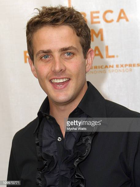 Joey McIntyre during 3rd Annual Tribeca Film Festival Tony and Tina's Wedding Premiere at Stuyvesant High school in New York City New York United...