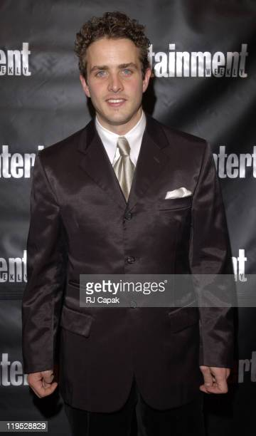 Joey McIntyre during Entertainment Weekly 8th Annual Academy Awards Viewing Party at Elaine's in New York City New York United States