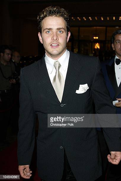 Joey McIntyre during Oscar De La Hoya to Host 'Evening of Champions' at Regent Beverly Wilshire Hotel in Beverly Hills CA United States