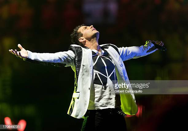 Joey McIntyre of the New Kids On The Block performs at Wells Fargo Center on June 15 2013 in Philadelphia Pennsylvania