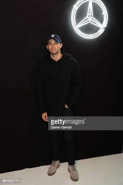 Joey McLough attends the MercedesBenz #MBCOLLECTIVE Chapter 1 launch party with M I A and Tommy Genesis on March 23 2017 in London United Kingdom