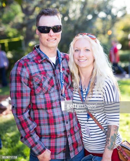Joey Paul and Michelle Asker attend the UCLA Operation Mend 10 Year Anniversary at the Home of Founder Ron Katz Sponsored by The Thalians...
