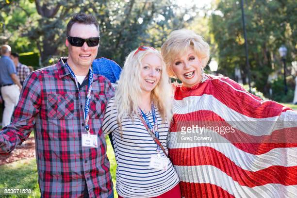 Joey Paul Michelle Asker and Actress and Thalians Board Member Ruta Lee attend the UCLA Operation Mend 10 Year Anniversary at the Home of Founder Ron...