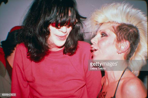 Joey Ramone and Wendy O Williams