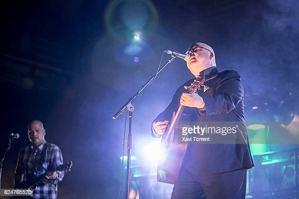 Joey Santiago and Black Francis of the Pixies perform in concert at Sant Jordi Club on November 20 2016 in Barcelona Spain