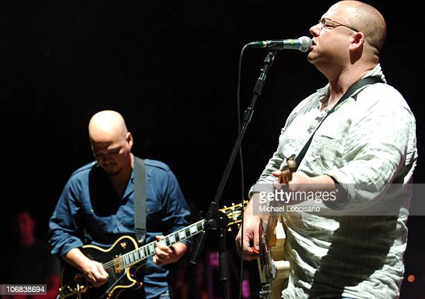 Joey Santiago and Frank Black of the Pixies