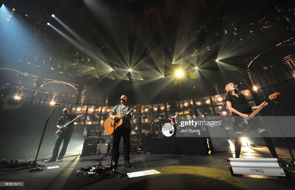 Joey Santiago Black Francis Dave Lovering and Kim Shattuck of The Pixies perform live on stage on Day 25 of iTunes Festival 2013 at The Roundhouse on...