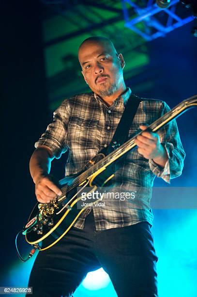 Joey Santiago of Pixies performs on stage at Sant Jordi Club on November 20 2016 in Barcelona Spain