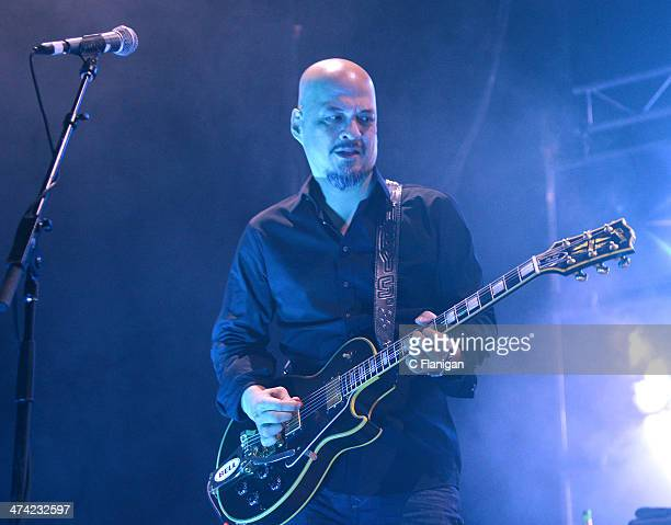 Joey Santiago of The Pixies performs at The Fox Theatre on February 21 2014 in Oakland California