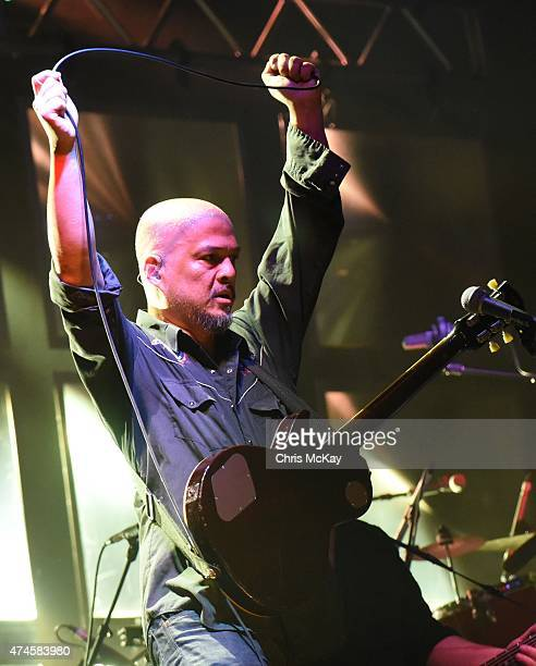 Joey Santiago of The Pixies performs during day 1 of the 3rd Annual Shaky Knees Music Festival at Atlanta Central Park on May 8 2015 in Atlanta City