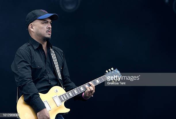 Joey Santiago of The Pixies performs live on day 3 of the Pinkpop Festival on May 30 2010 in Landgraaf Netherlands