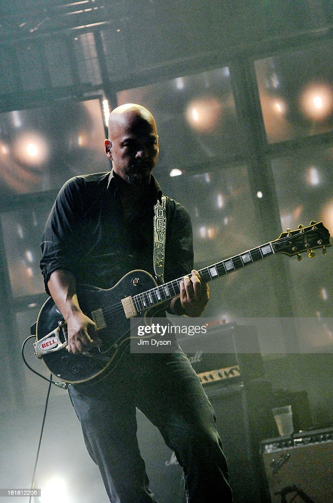 Joey Santiago of The Pixies performs live on stage on Day 25 of iTunes Festival 2013 at The Roundhouse on September 25, 2013 in London, England.
