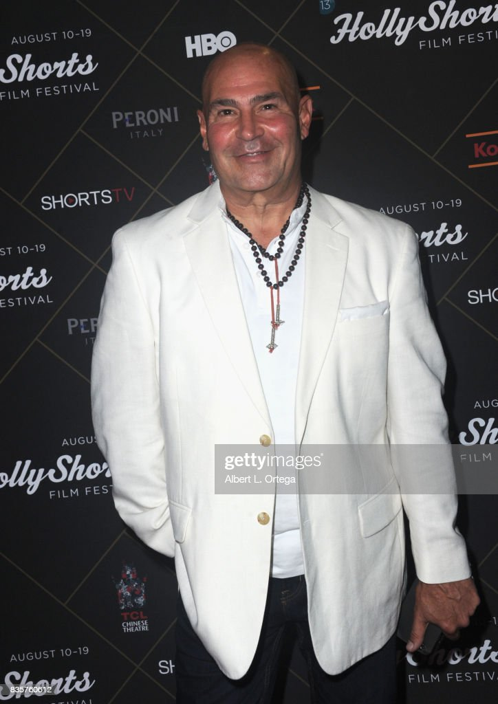 Joey Santos arrives for the HollyShorts Film Festival - Closing Night Film 'This Is Meg' held at TCL Chinese 6 Theatres on August 19, 2017 in Hollywood, California.