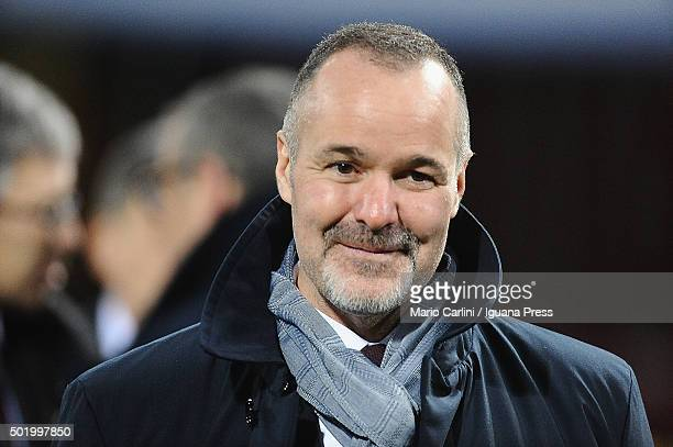 Joey Saputo Chairman of Bologna FC attends the Serie A match between Bologna FC and Empoli FC at Stadio Renato Dall'Ara on December 19 2015 in...