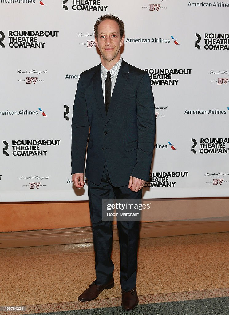 Joey Slotnick attends 'The Big Knife' Broadway opening night at American Airlines Theatre on April 16, 2013 in New York City.