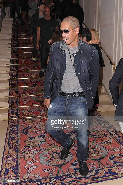 Joey Starr attends Kate Moss for Fred Jewellery Launch at Hotel Ritz on October 4 2011 in Paris France