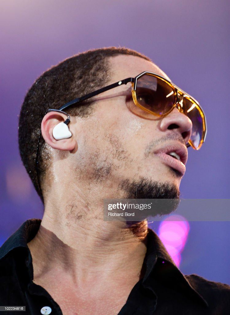 <a gi-track='captionPersonalityLinkClicked' href=/galleries/search?phrase=Joey+Starr&family=editorial&specificpeople=2115326 ng-click='$event.stopPropagation()'>Joey Starr</a> of French Rap band NTM performs live on stage at Parc des Princes on June 19, 2010 in Paris, France.