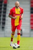 Joey Suk during the team presentation of Go Ahead Eagles on July 15 2016 at the Adelaarshorst Stadium in Deventer The Netherlands
