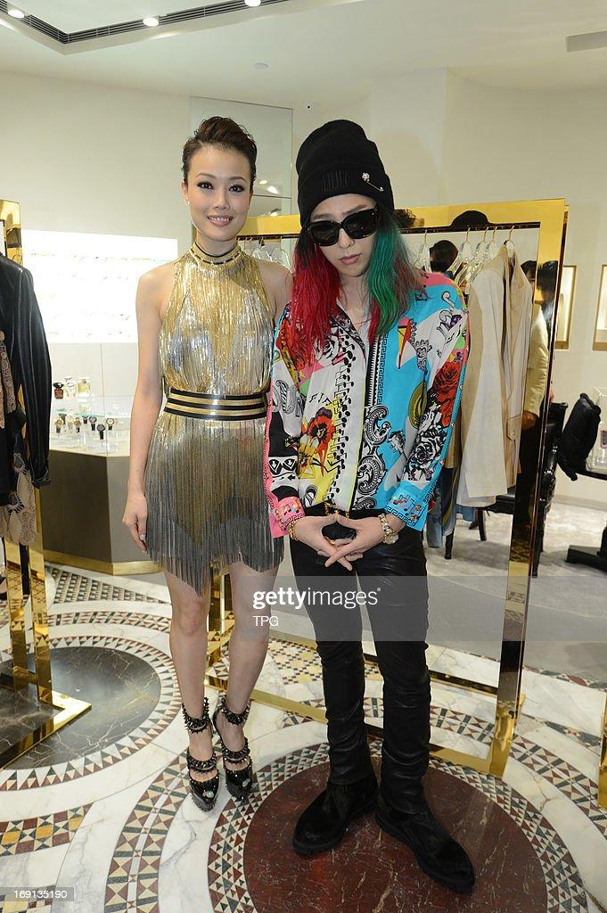 Joey Yung and G-Dragon attended fashion activity on Sunday May 19, 2013 in Hong Kong, China.