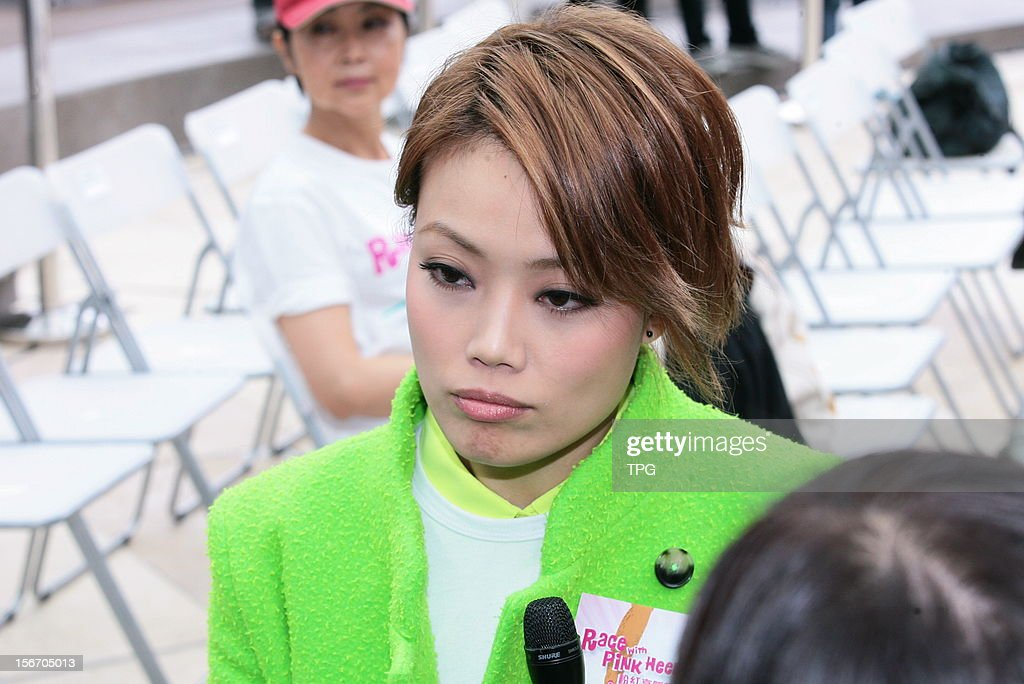 Joey Yung attended a charity activity on Sunday November 18, 2012 in Hong Kong, China.