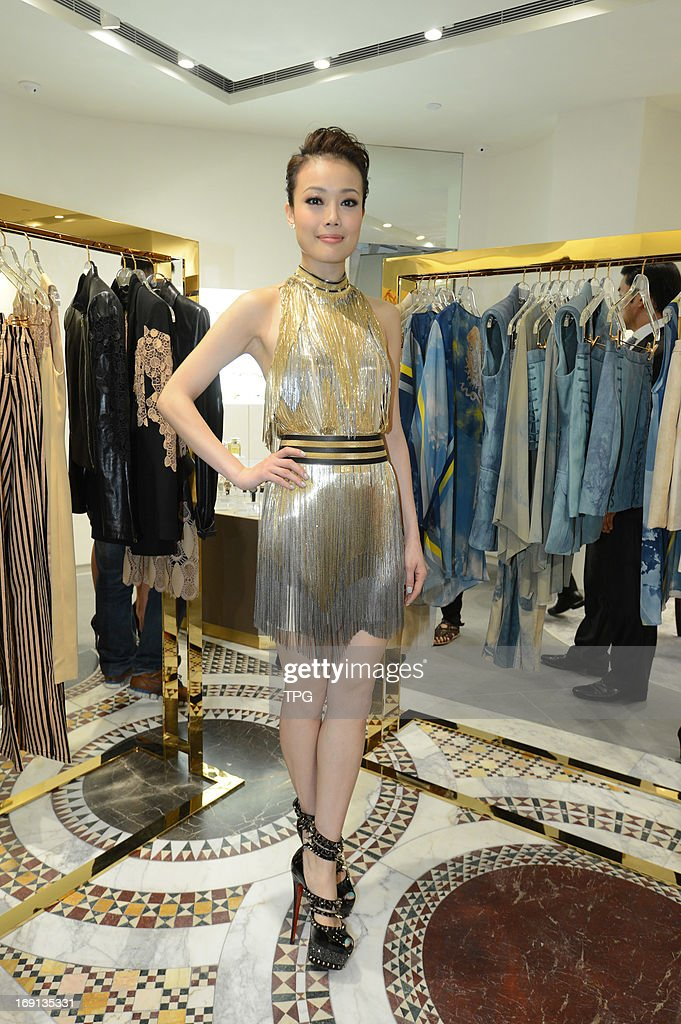 Joey Yung attended fashion activity on Sunday May 19, 2013 in Hong Kong, China.