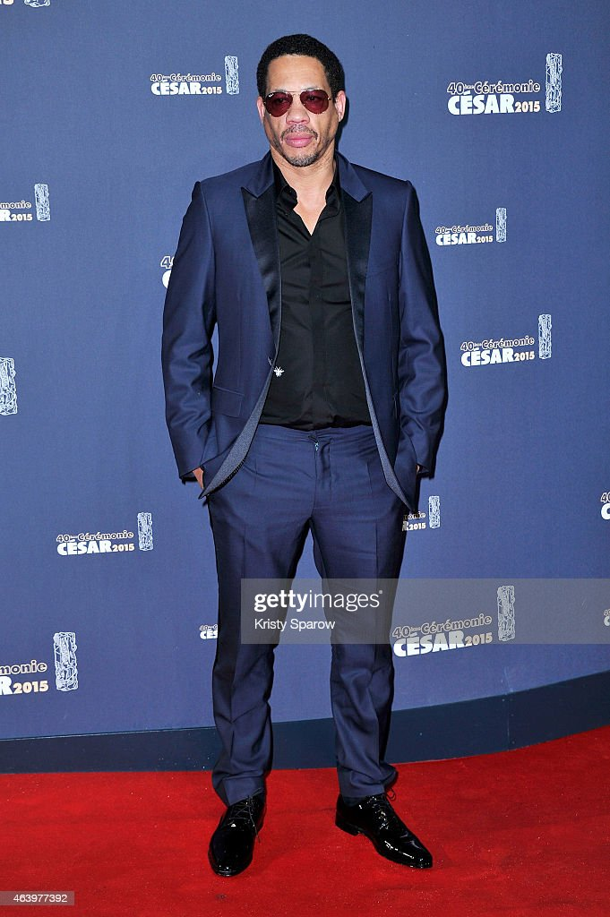 Joeystarr attends the 40th Cesar Film Awards at Theatre du Chatelet on February 20, 2015 in Paris, France.