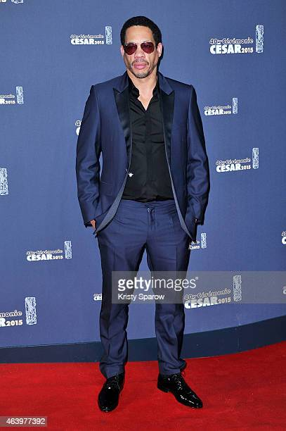 Joeystarr attends the 40th Cesar Film Awards at Theatre du Chatelet on February 20 2015 in Paris France