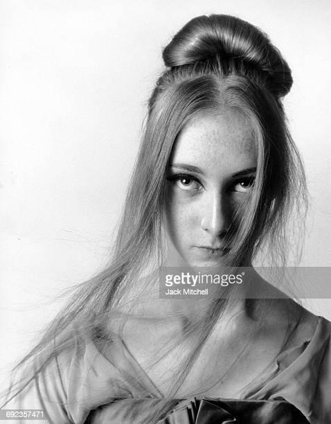 Joffrey Ballet dancer Trinette Singleton photographed in 1966