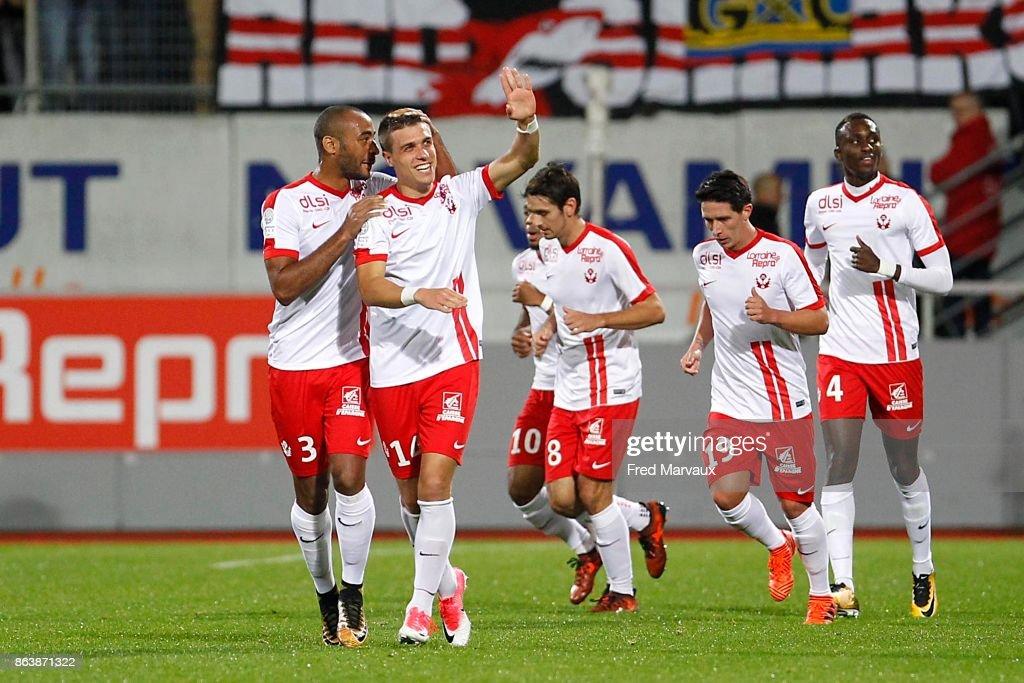 As Nancy Lorraine v Clermont - Ligue 2