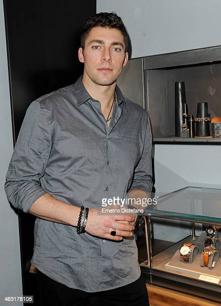 Joffrey Lupul attends the David Yurman Toronto Grand Opening event on January 16 2014 in Toronto Canada