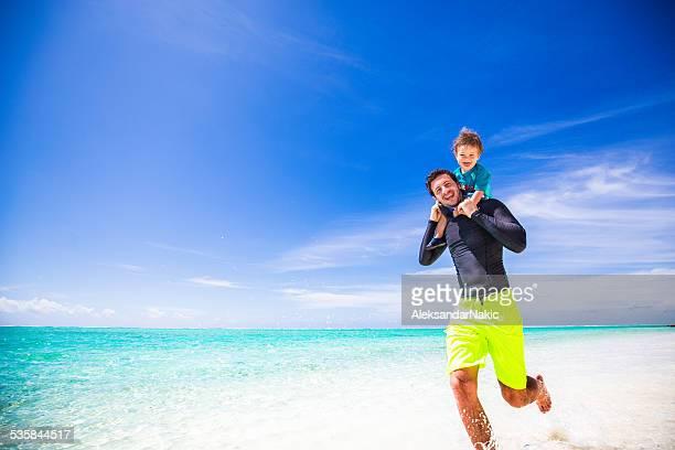 Jog by the sea