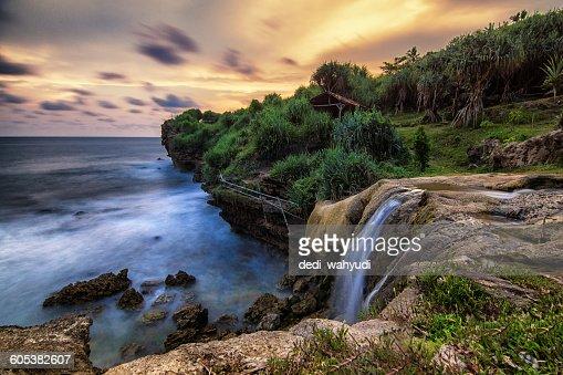 Jogan Beach, Yogyakarta, Java, Indonesia